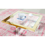 Mila Collection // Lucite Coffee Table