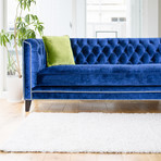 Maxwell Collection // Tufted Velvet Sofa