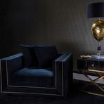 Xavier Velvet Armchair