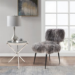Zara Collection // Side Table (Silver)