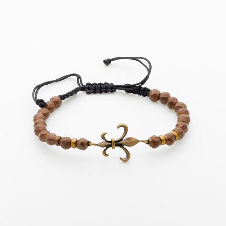 Jean Claude Jewelry // Hematite + Stainless Steel Bracelet // Multicolor