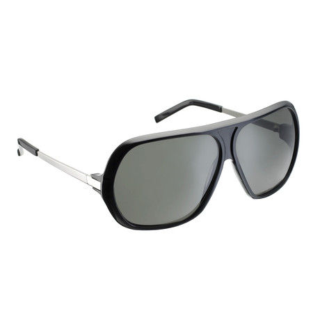 Unisex RAF2A Aviator Sunglasses // Black