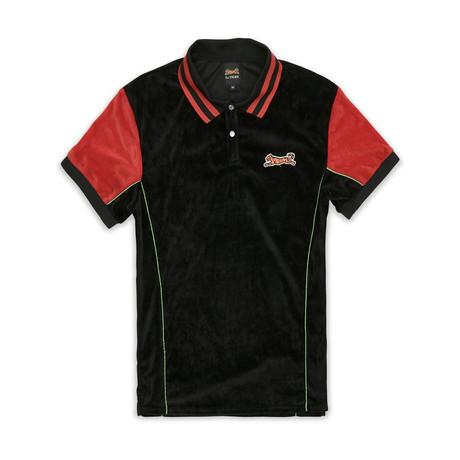 Abbott Polo Shirt // Black (S)