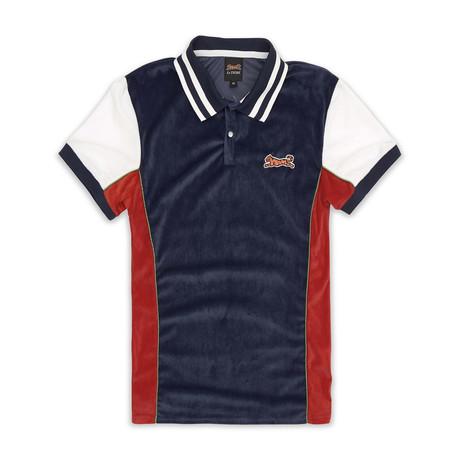 Abbott Polo Shirt // Navy (S)