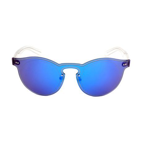 Women's KZ3186 Sunglasses // Blue + Crystal