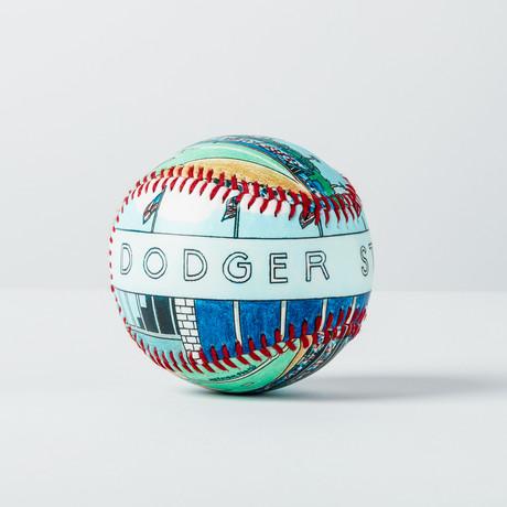Dodger Stadium (Baseball + Display Case)