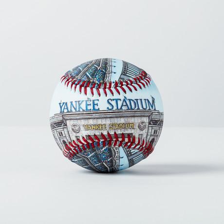 Yankee Stadium (Baseball + Display Case)