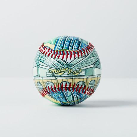 Miller Park (Baseball + Display Case)