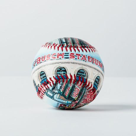 Busch Stadium (Baseball + Display Case)