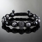 Revenant // Black x Metallic Jasper Bracelet (S-M)