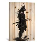 """Armored Samurai // Nicklas Gustafsson (18""""W x 26""""H x 1.5""""D)"""