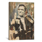 "Hello, I'm Johnny Cash // Mark Fox (18""W x 26""H x 1.5""D)"