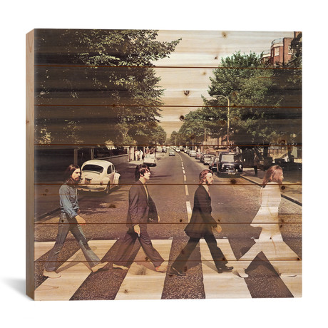 "Abbey Road // Radio Days (26""W x 26""H x 1.5""D)"