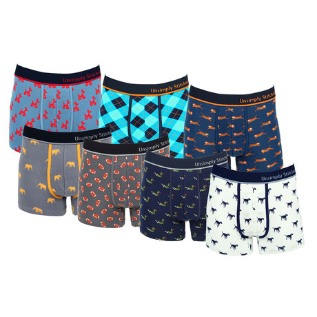 Greg Assorted Trunks // Pack of 7 (S)