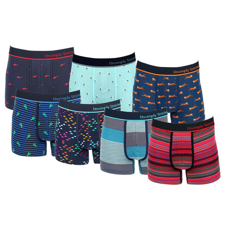 Grayson Assorted Trunks // Pack of 7 (S)