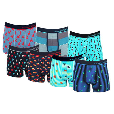 Austin Assorted Trunks // Pack of 7 (S)