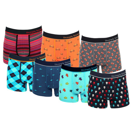 Colin Assorted Trunks // Pack of 7 (S)