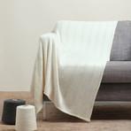 Blanket // Stripe Knit (Dark Gray)