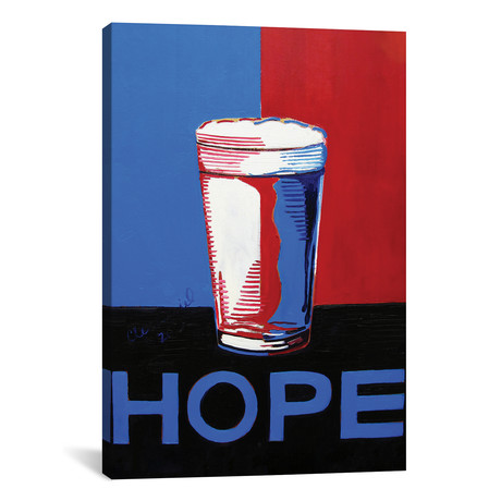 """Hope Pint (18""""W x 12""""H x 0.75""""D)"""