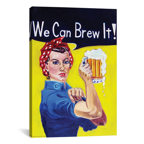 "We Can Brew It (18""W x 12""H x 0.75""D)"