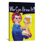 """We Can Brew It (18""""W x 12""""H x 0.75""""D)"""