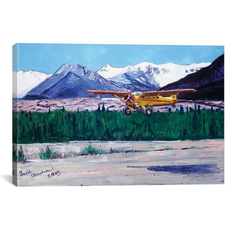 "Wrangell Mountain Landing (12""W x 18""H x 0.75""D)"