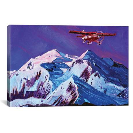 "Talkeetna Retreat (12""W x 18""H x 0.75""D)"