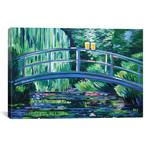 """Monet's Beer Garden (12""""W x 18""""H x 0.75""""D)"""