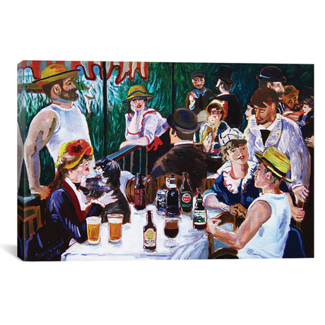 "Tasting Of The Beer Party (12""W x 18""H x 0.75""D)"