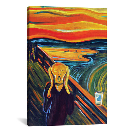 The Scream Over An Empty Pint