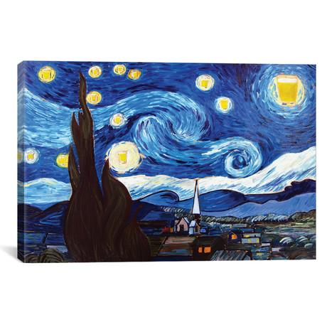 "Starry Pint (12""W x 18""H x 0.75""D)"