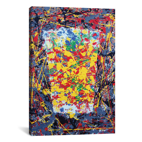 "Pollock Pint (18""W x 12""H x 0.75""D)"