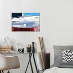 "Pint With Anchorage Skyline (12""W x 18""H x 0.75""D)"