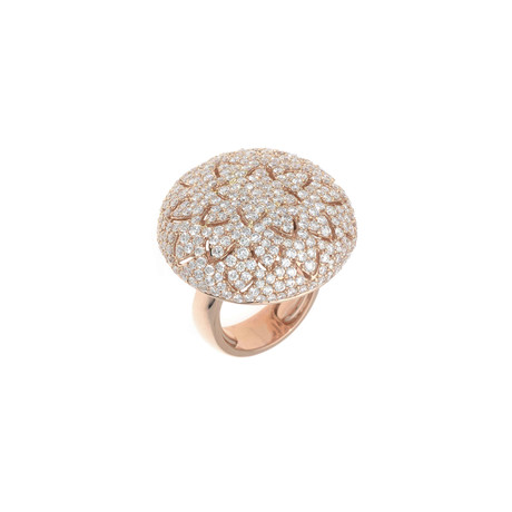 Crivelli 18k Rose Gold Diamond Ring I // Ring Size: 7