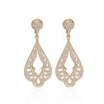 Crivelli 18k Yellow Gold Diamond Drop Earrings