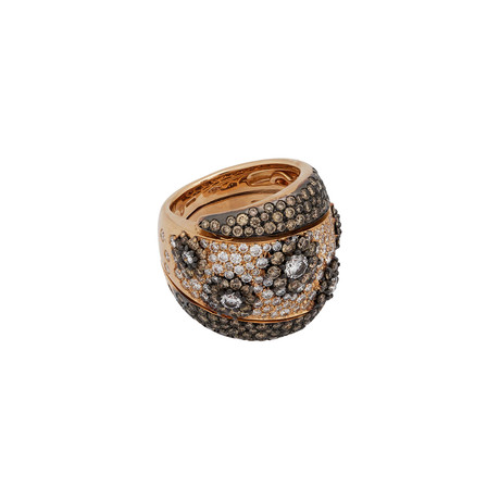Crivelli 18k Rose Gold Diamond Ring // Ring Size: 6.5