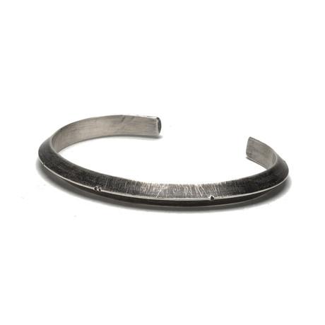 Triangular Wire Cuff // Silver (Small)