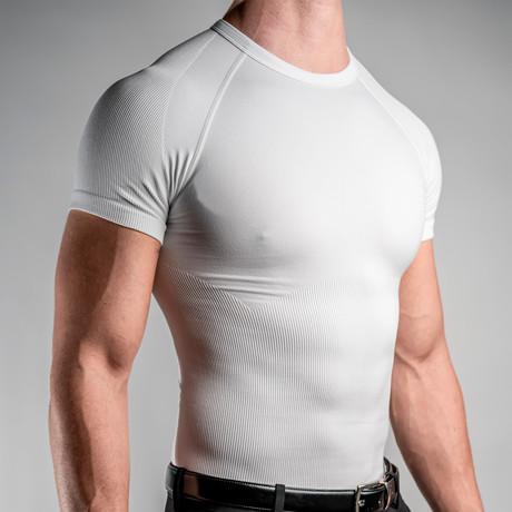 CoreMax Crew Neck Undershirt // White (S)