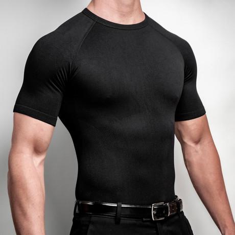 CoreMax Crew Neck Undershirt // Black (S)