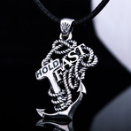 Hold Fast Anchor Pendant
