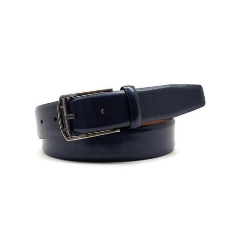Wilson Dress Belt // Navy (32)