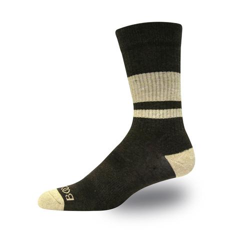 Garth Crew Sock (Gray)