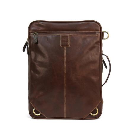 Garth 2-In-1 Convertible Backpack // Brown