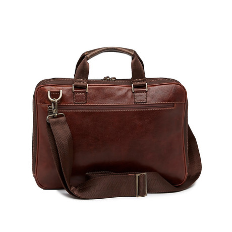 Garth Zipster Briefcase (Black)