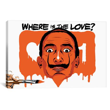 """Where Is The Love (18""""W x 12""""H x 0.75""""D)"""