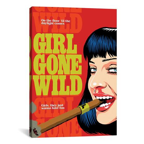 "Gone Wild (12""W x 18""H x 0.75""D)"