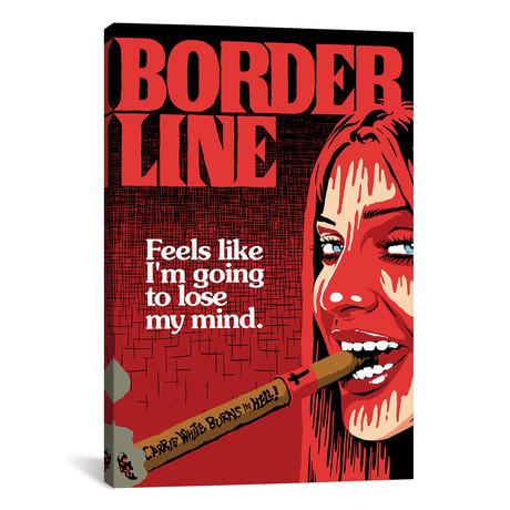 "The Border (12""W x 18""H x 0.75""D)"