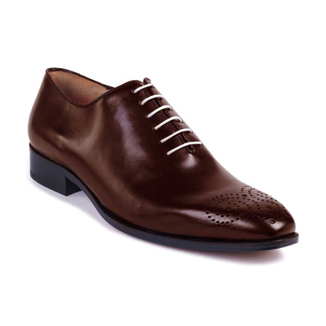 Batton Leather Oxford // Cognac (Euro: 39)