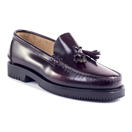 Boran Leather Loafer // Burgundy (Euro: 39)