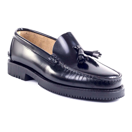 Boran Leather Loafer // Black (Euro: 39)